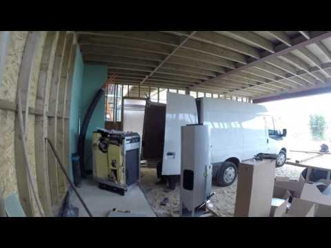 Wood pellet biomass boiler installed in Lewes eco house