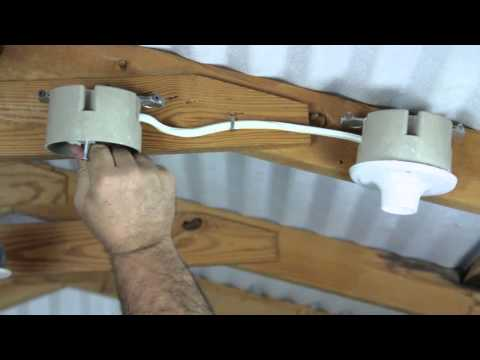 How to Install Two Electric Lights in a Ceiling : Electrical Solutions