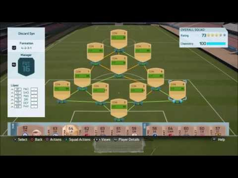 FIFA 16 FUT - UNLIMITED CONTRACTS & FITNESS!!!!