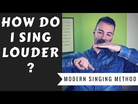 Voice Lessons: How To Sing Louder? - A Lesson About Vocal Dynamics