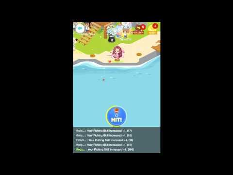 Line Play: Treasure Island Fishing