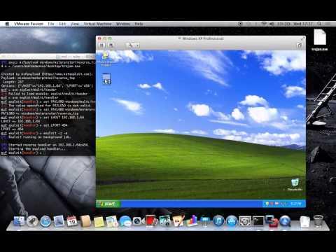 Create a Trojan EXE File with Metasploit on MAC OS X