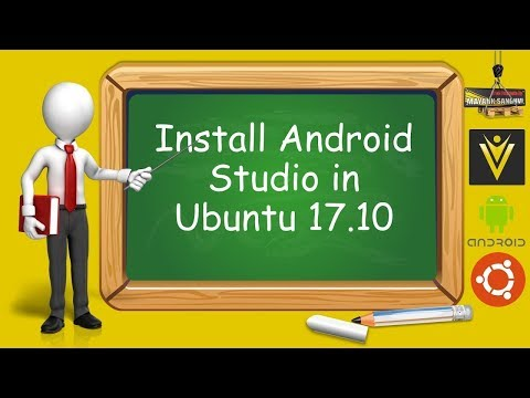 How to Install Android Studio 3.0.1 in Ubuntu 17.10