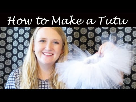 How to Easily Make a Baby Tutu