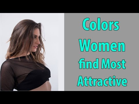 Colors Women find Most Attractive