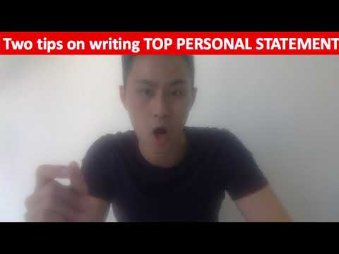HKExcel ultimate personal statement guide