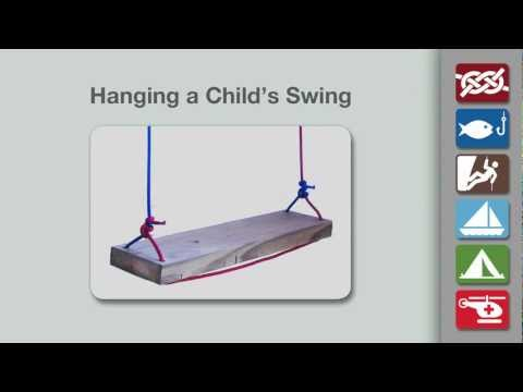 Hang a Swing   How to Safely Hang a Swing