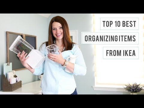 Top 10 Best Organizing Items from IKEA