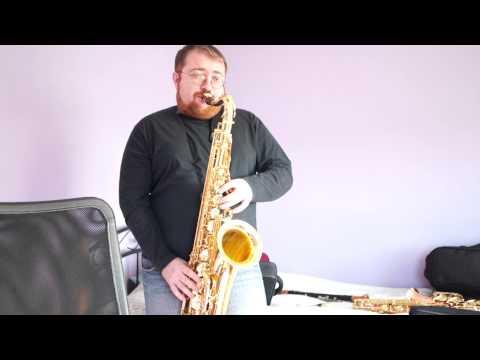 Yamaha YTS-62 tenor saxophone classical setup