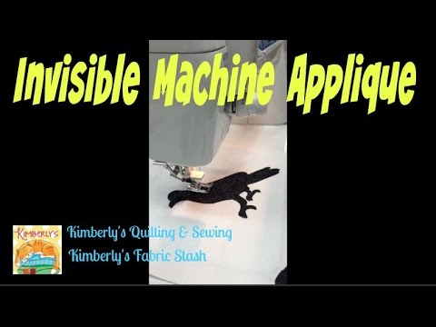 Invisible Machine Applique Technique