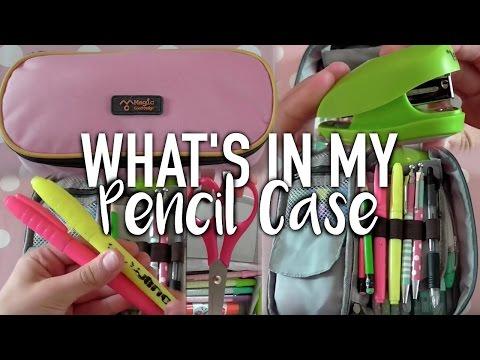 What's in my Pencil Case 2015 | Idella