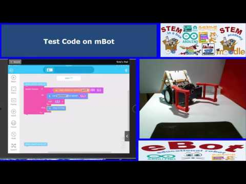 Simple Coding- Obsticle Avoid- Makeblock App on IPAD-Android