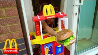 Kids Pretend Play with Kitchen Toy Playset at McDonald