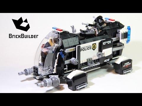 Lego Movie 70815 Super Secret Police Dropship - Lego Speed build