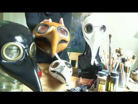 Doctor Plague Masks by Lara July 2011