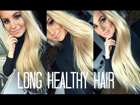 Long and Healthy Hair with Hair Products without Sulfate, Paraben, Gluten, Salt and Dea