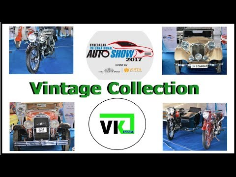 Auto Show 2017 - Vintage Collection
