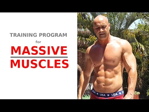 Training program for MAX muscle growth