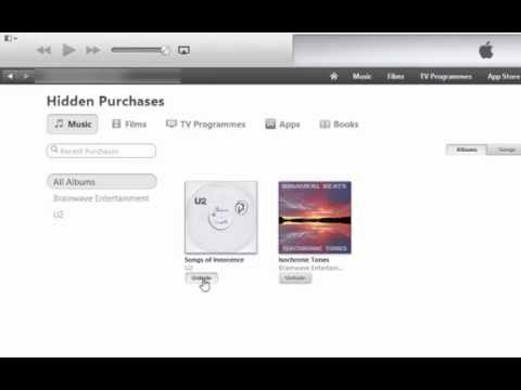 How To Restore Albums to Your iTunes Purchased List