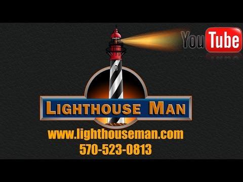 Lighthouse Man - Yard and Garden Lighthouses!!!