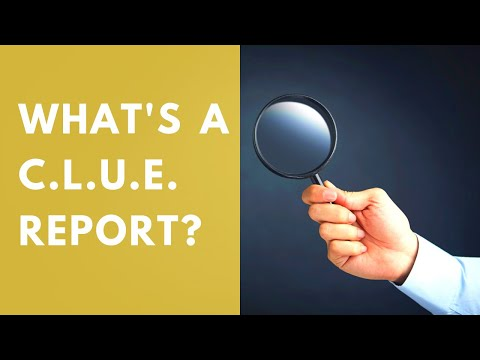 What you need to know about your CLUE report