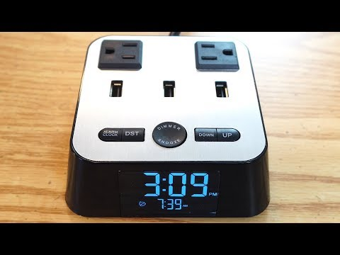 Yostyle Alarm Clock Power Charging Station Review