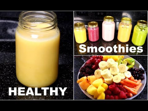 Healthy Tasty Breakfast/Lunch Smoothies for WEIGHT Loss/gain !!