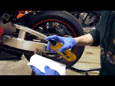 Best way to clean motorcycle wheels