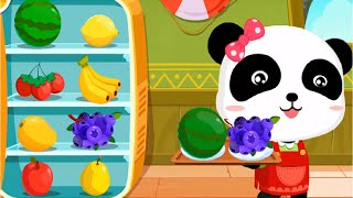 Baby Panda Making Juice, Ice Cream & Smoothies | Join The Fun With Little Panda Kids Game