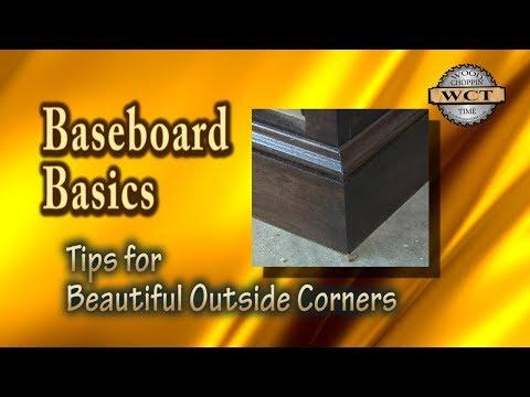 Baseboards Basics- Tips for beautiful Outside Corners
