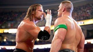 Triple H John Cena BACKSTAGE HEAT! Original John Cena vs. The Undertaker PLANS: BIG WWE NEWS