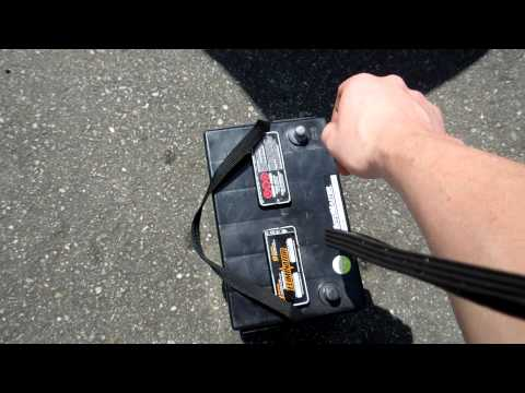 how to install / remove battery mazda 3 2006