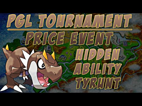 Battle of Hoenn Competition: Price Event Pokémon - Hidden Ability Tyrunt - Tyrantrum | BattleArena
