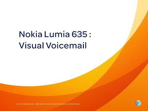 Nokia Lumia 635 : Visual Voicemail