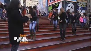 Siudy - Flashmob  At Times Square -  Flamenco Urbano -  Between Worlds