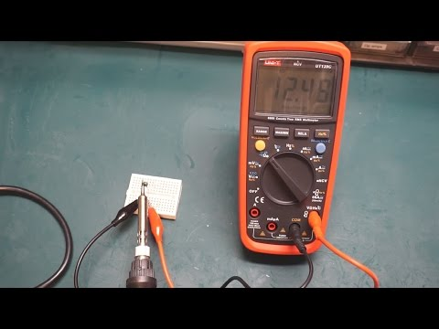 Basic Electronic Components - The Thermistor