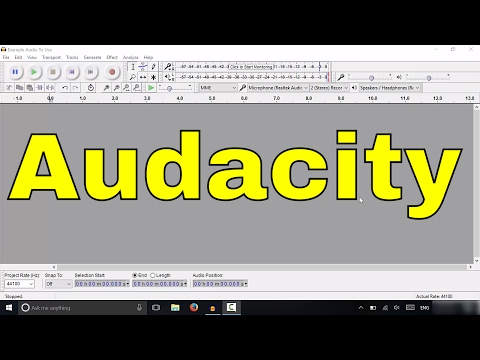 Audacity Tutorial-How To Record A Podcast (Step-By-Step)