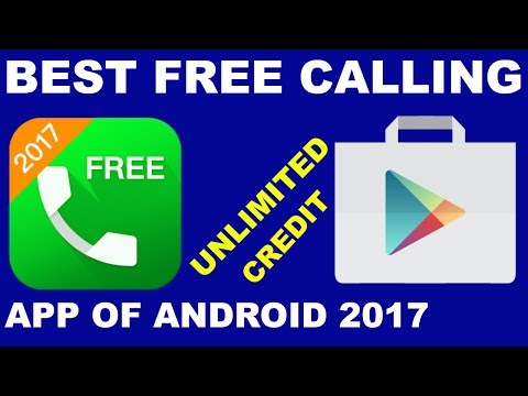Best Free Calling App Of Android 2017 | Free Unlimited Calls To Any Country | Free Call App (URDU)