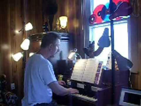 INDIAN SUMMER on the HAMMOND S-6 chord organ and Leslie Tallboy speaker