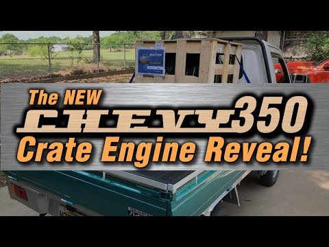 Auto Body Q&A + The New Chevy 350 Crate Engine Reveal!