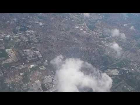 Above Jakarta, on Citilink airplane
