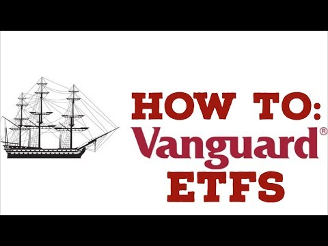 HOW TO INVEST IN VANGUARD ETFs: Investing in Vanguard Funds 2018 on the Robinhood App