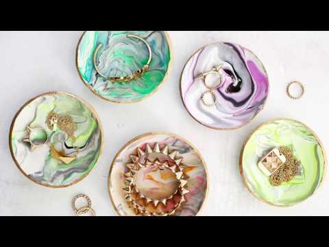 Marbled Ring Dish DIY
