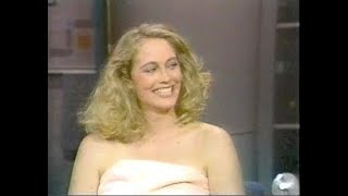 Cybill Shepherd, Gerty Molzen, More on Late Night, May 7, 1986 (full, st.)