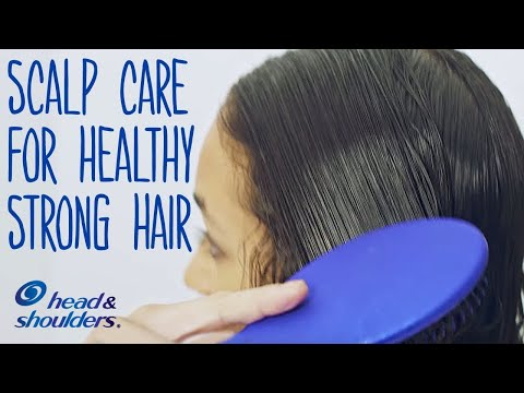 How to Take Care of Your Scalp for Healthy Strong Hair | Scalp Care