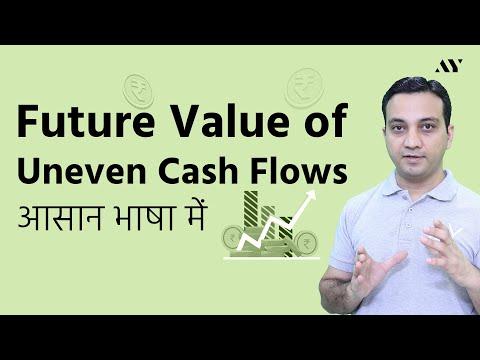 Future Value of Uneven Cash Flows - Hindi (2018)