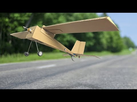 Rc Homemade | How to Make a Remote Control Plane at Home