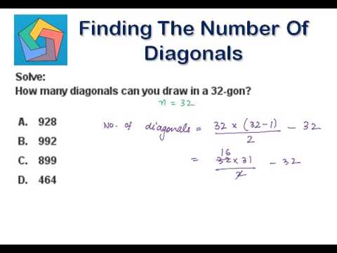 Finding the Number of Diagonals