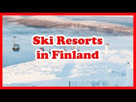 Top 5 Ski Resorts in Finland   Europe Skiing Guide