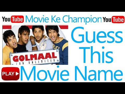 Guess bollywood Movie Name quiz | Guess The Movie Name | Find Movie Name | Movie Ke Champion